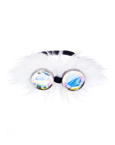White WTF Goggles