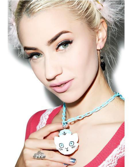 Sailor Kitten Necklace