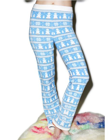 Frosty Da Snowman Pants