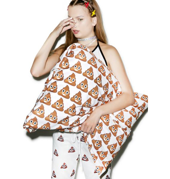 Poop Emoji Pillowcase