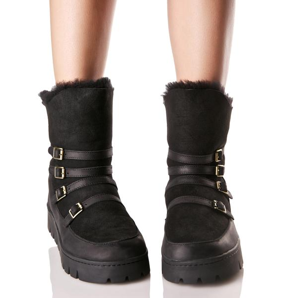 Australia Luxe Collective Currie Buckled Boots