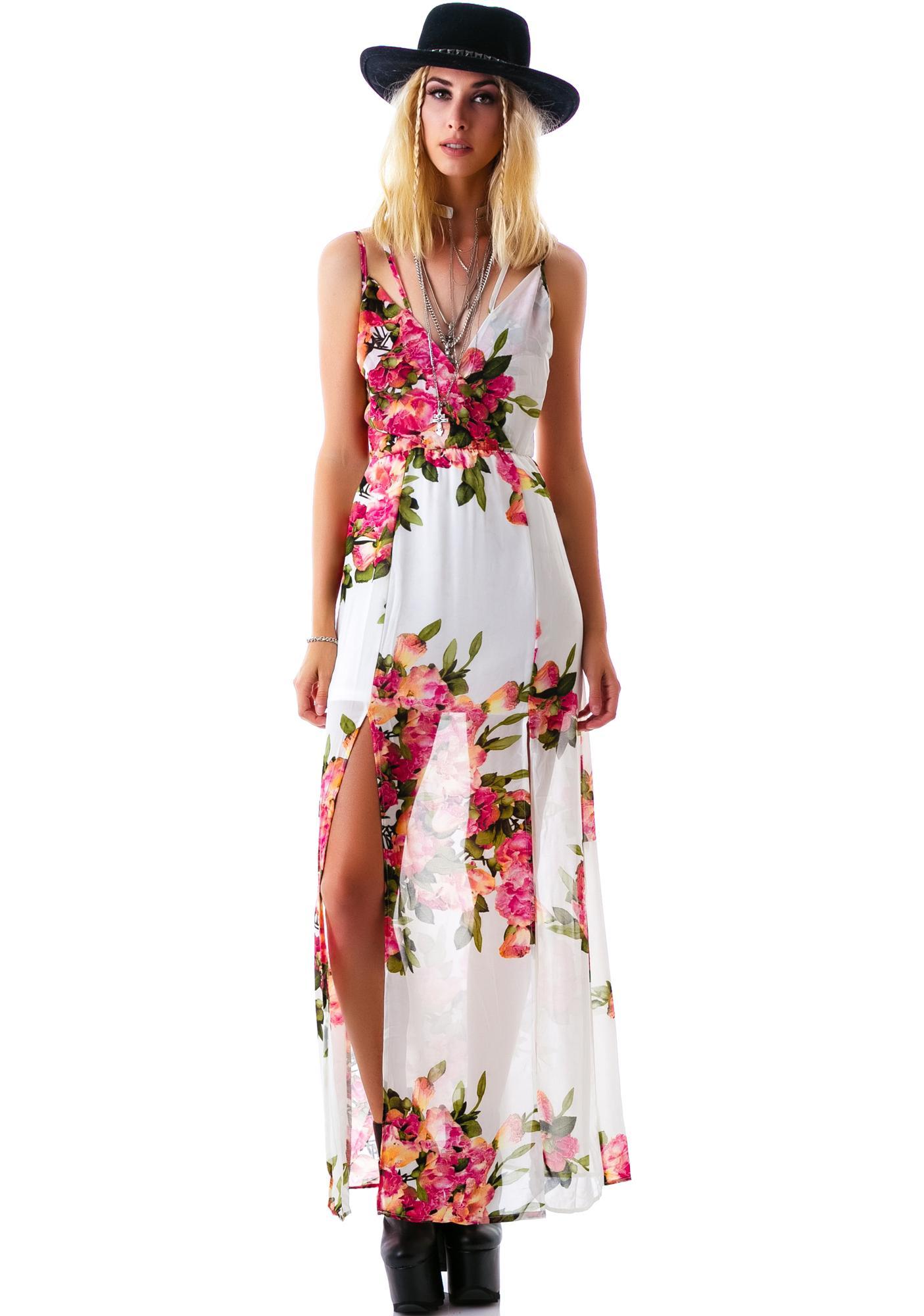 Not So Secret Garden Maxi Dress