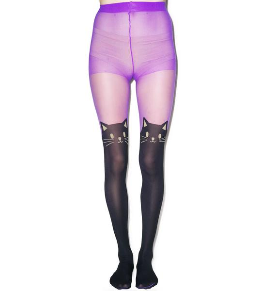 Cat's Meow Tights