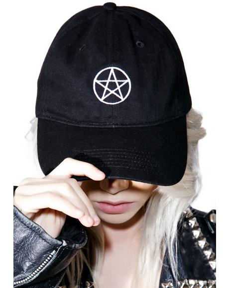 Pentagram Dad Hat