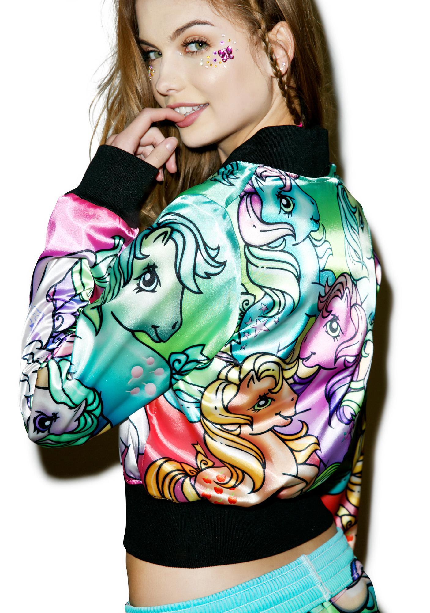Alice Vandy Ponyland 2.0 Reversible Bomber Jacket