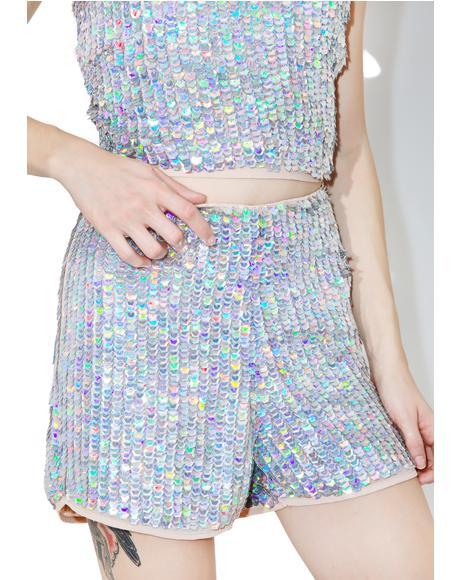 Disco BB Sequin Shorts