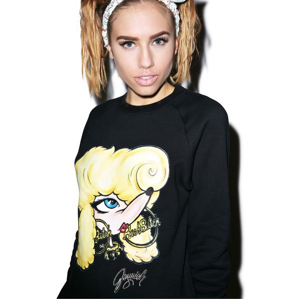 Joyrich Rich Bitch Crew Pullover