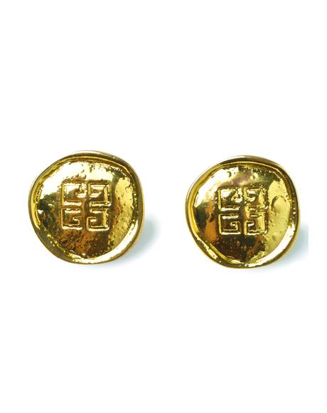 Givenchy Gimme Coin Earrings