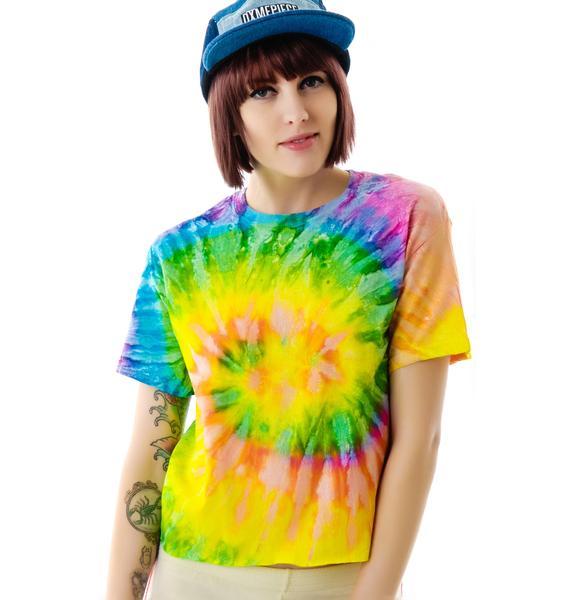 Kill Brand Go Home Tie Dye Tee