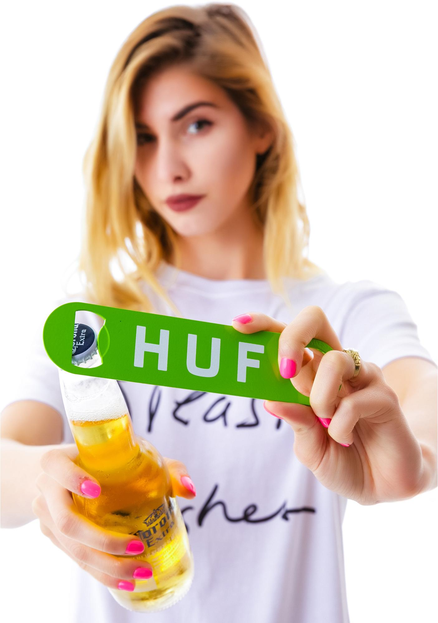 HUF Original Logo Bottle Opener