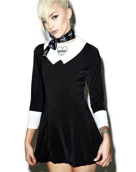 Collared Morph8ne Dress