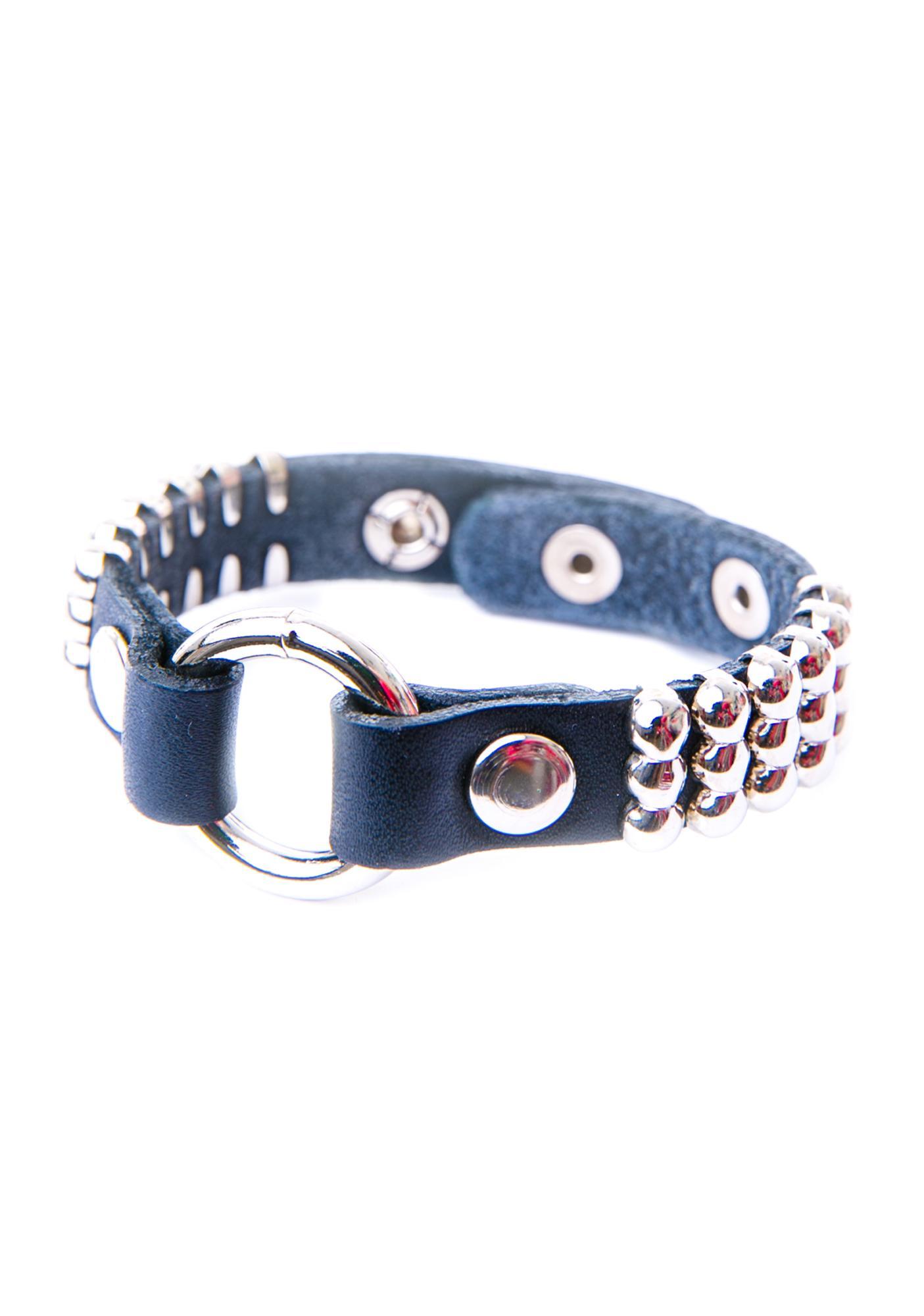 Club Exx Folsom Round Studded Bracelet