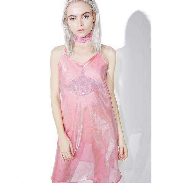 Bunny Holiday Sheer Beauty Cami-Dress