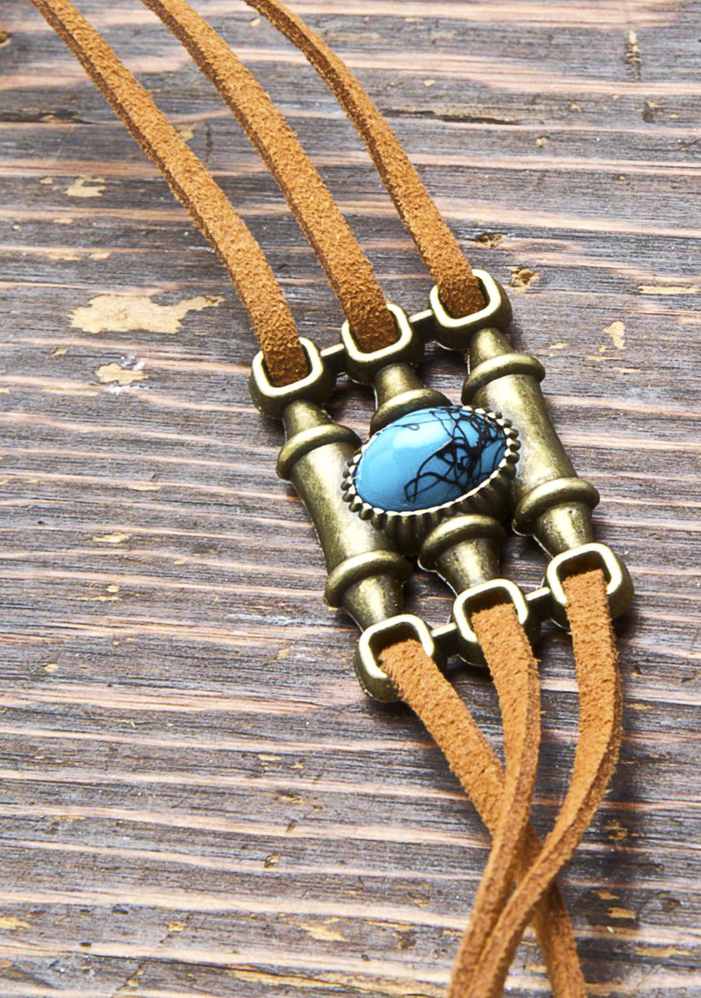 Folk Traveler Tie Belt