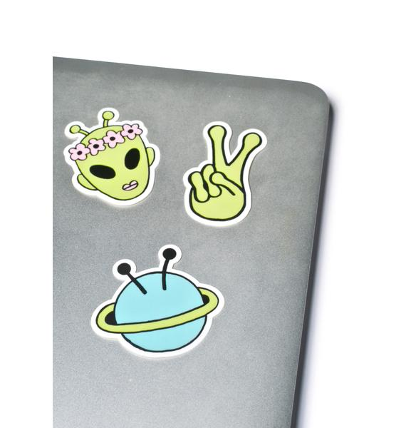 Alien Sticker Pack