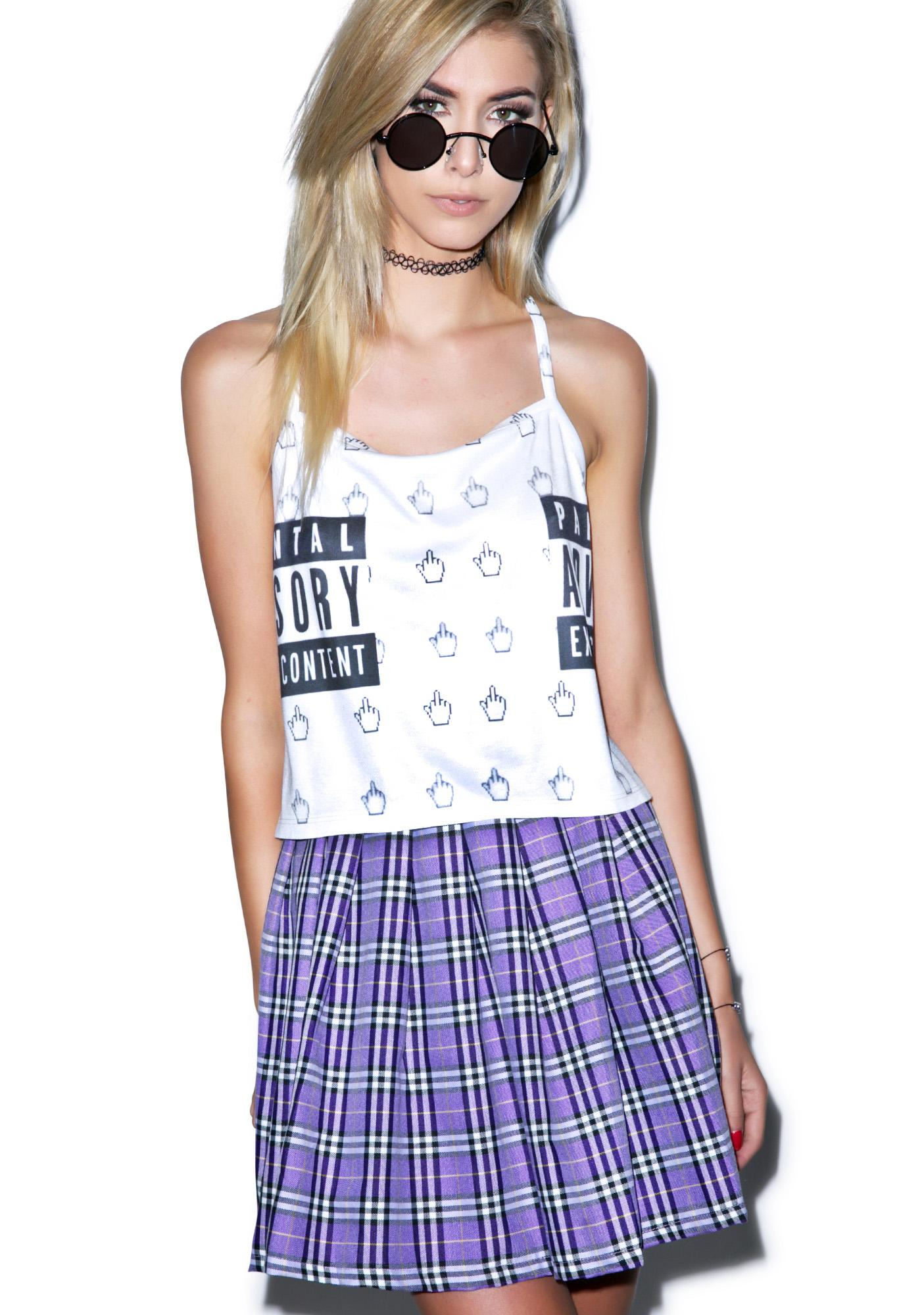 Reality Bites Plaid SkirtCHECK THESE OUT TOO
