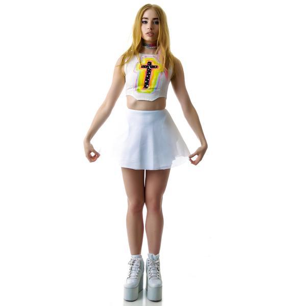 UNIF Mesh Scuba Skirt