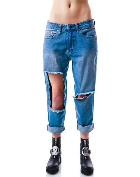 DJ Tanner Boyfriend Denim