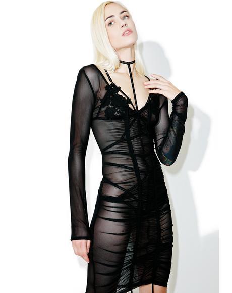 Kimberly Sheer Dress