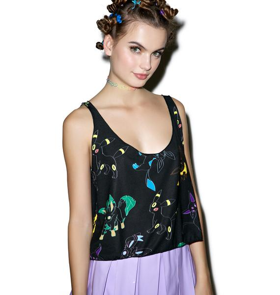 Japan L.A. Rainbow Evolution Crop Tank