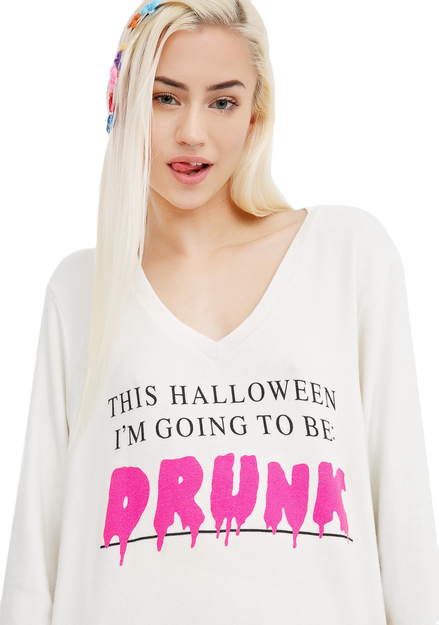 Wildfox Couture Halloween Buzz Baggy Beach V