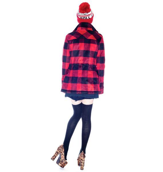 by Ronny Kobo Taylor Lumberjack Jacket