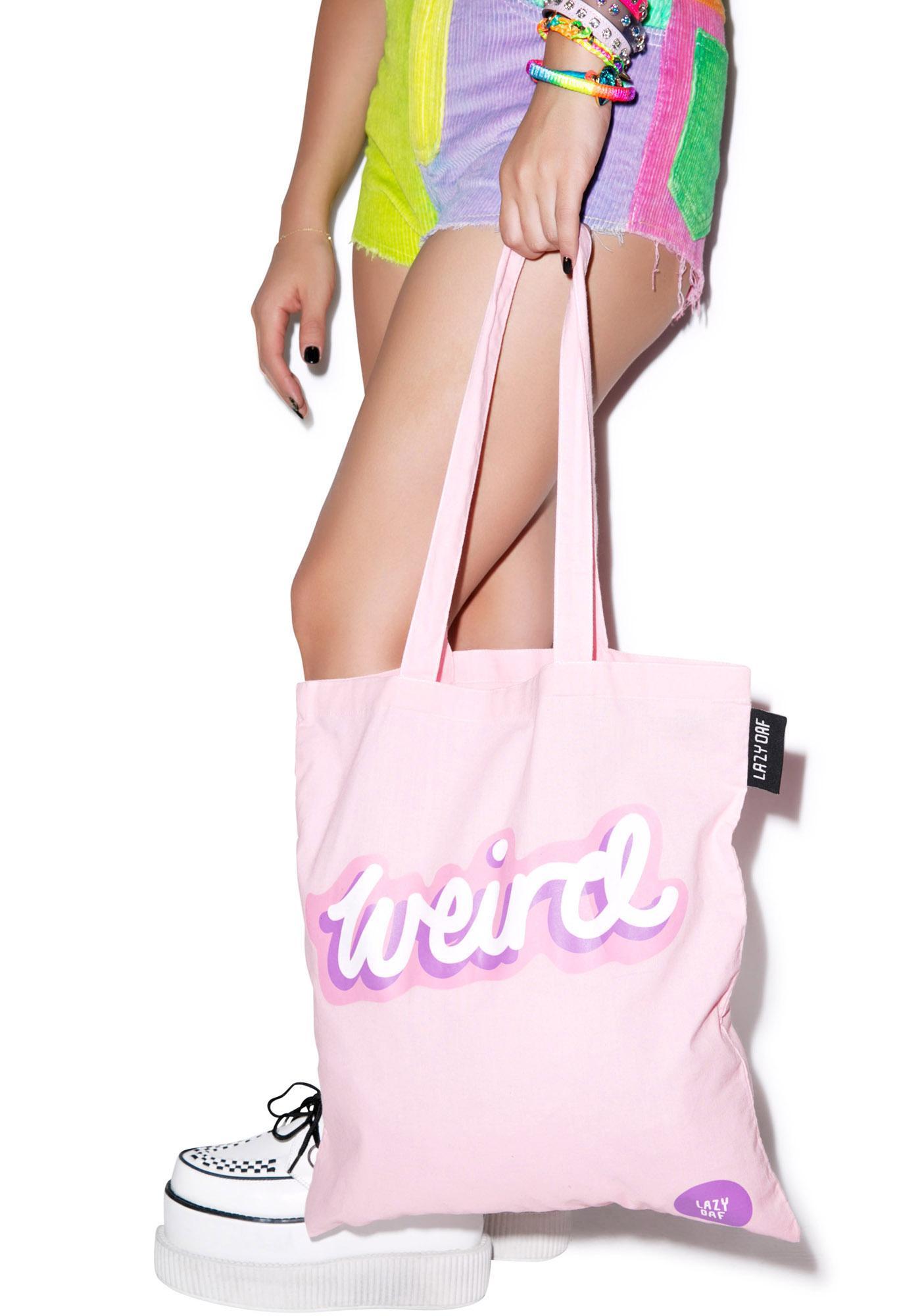 Lazy Oaf Weirdo Tote Bag