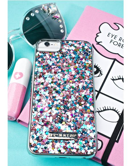 Ely Glitter iPhone Case
