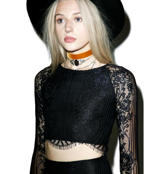 For Love & Lemons Lolo Crop Top