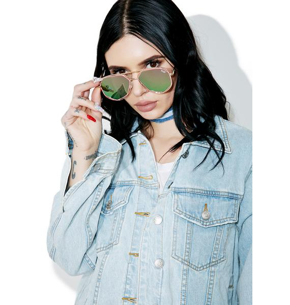 YHF Maddie Pink Sunglasses