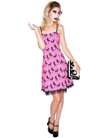 Unicorn Carousel Ritzy Dress