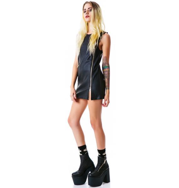 UNIF Moto Dress