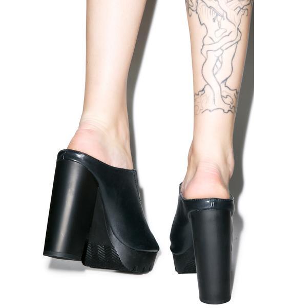Anotha Peep Outta Yew Sandals