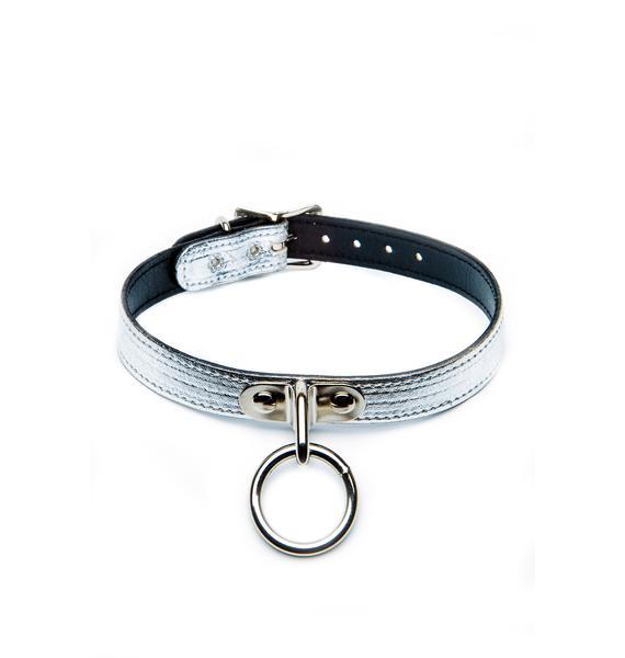 Club Exx Ogasm O-Ring Collar Choker