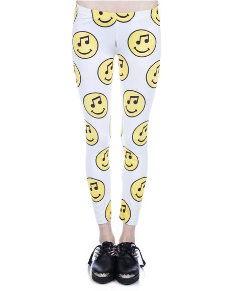 Music Face Leggings