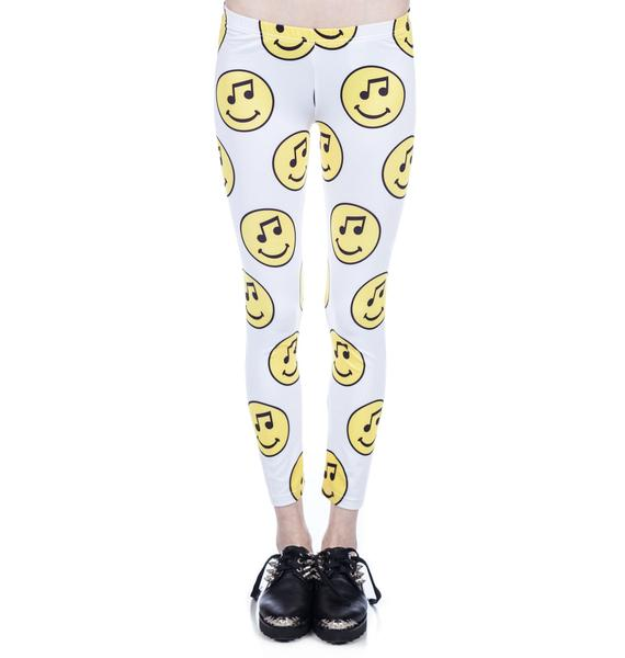 Joyrich Music Face Leggings