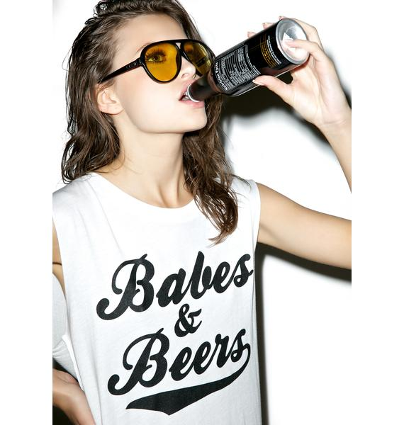 Social Decay Babes & Beers Tank Top