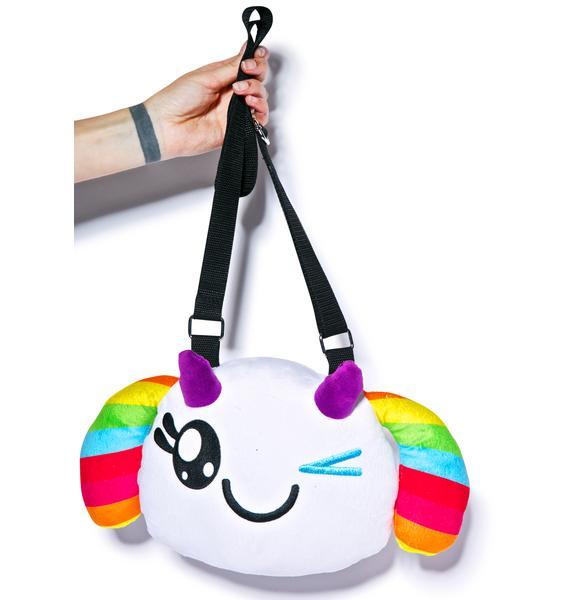 Iron Fist Wink Plush Crossbody Bag