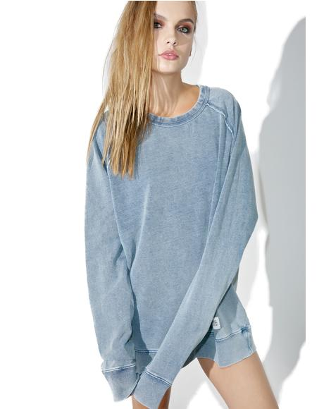 Rules Denim Sweatshirt