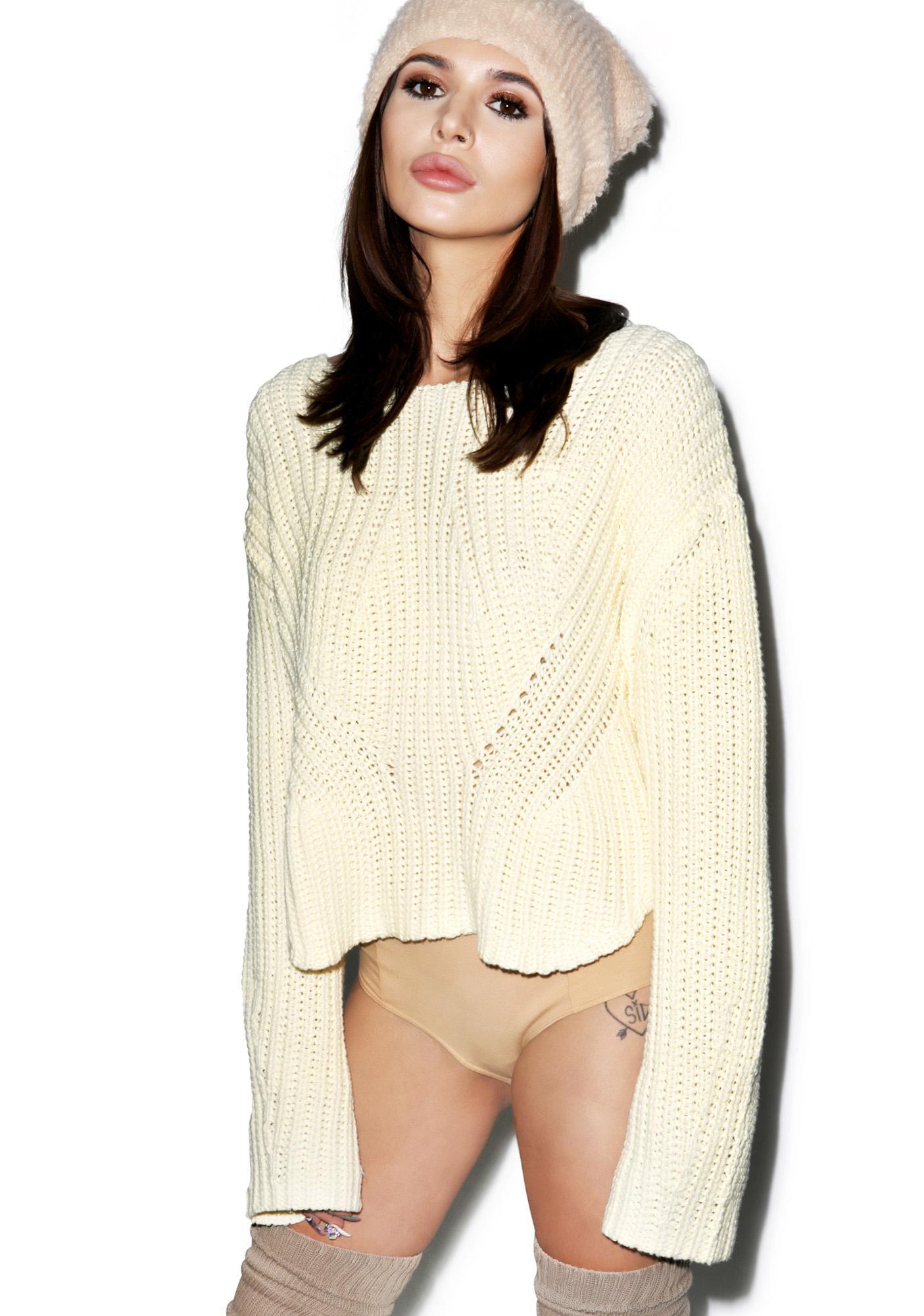 Somedays Lovin Strabo Chunky Knit Sweater