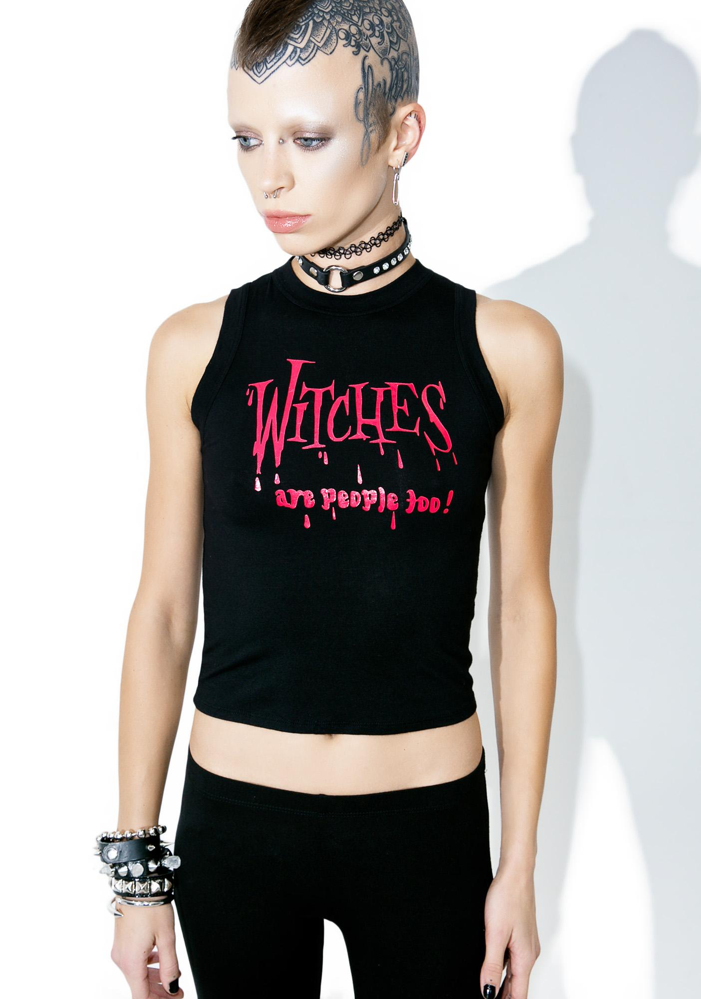 O Mighty Witches Are People Too Muscle Tank