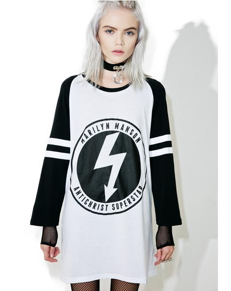 Wormboy Raglan Top
