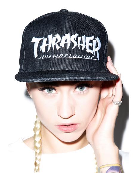 HUF X Thrasher Asia Tour Snapback