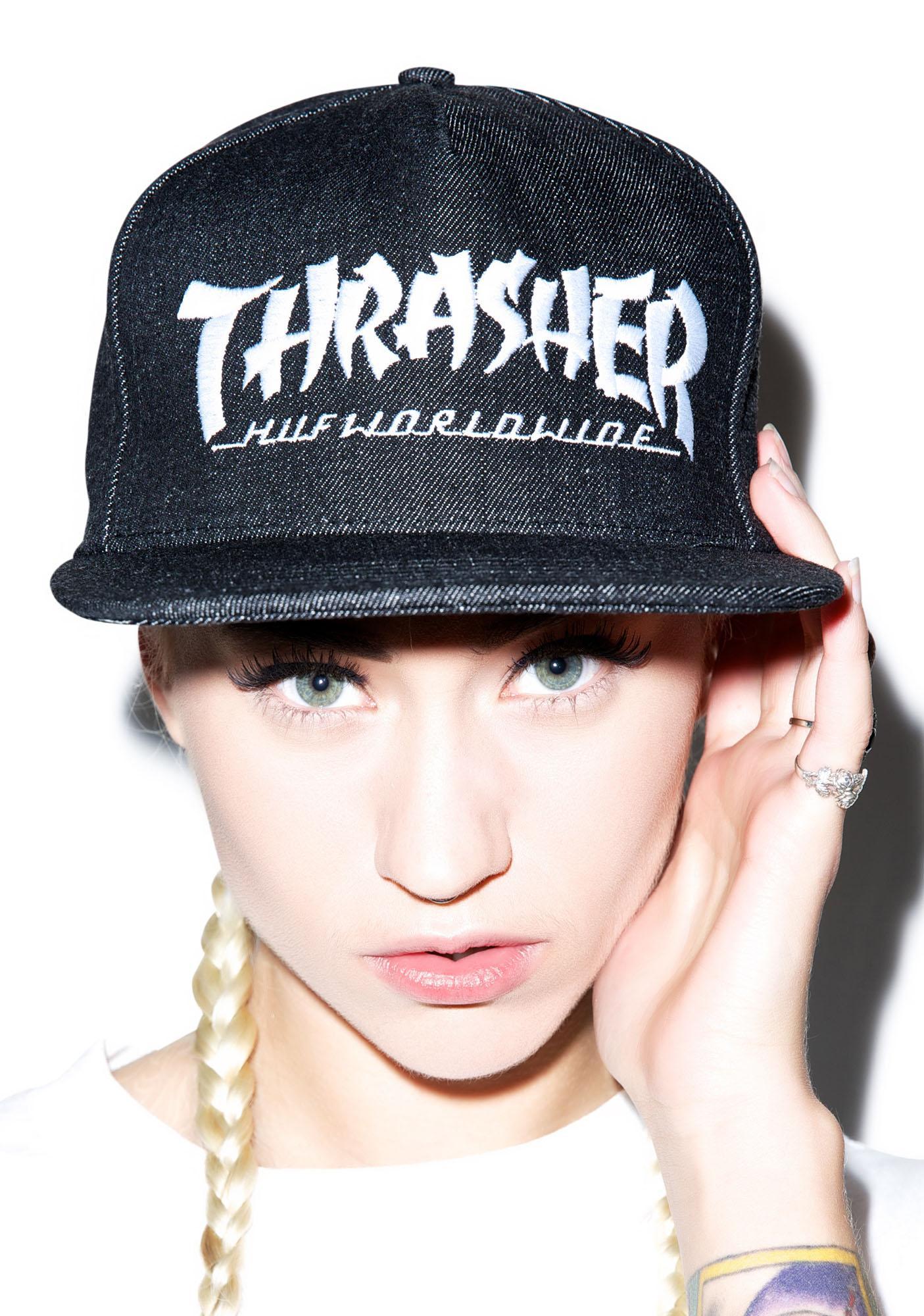 HUF HUF X Thrasher Asia Tour Snapback