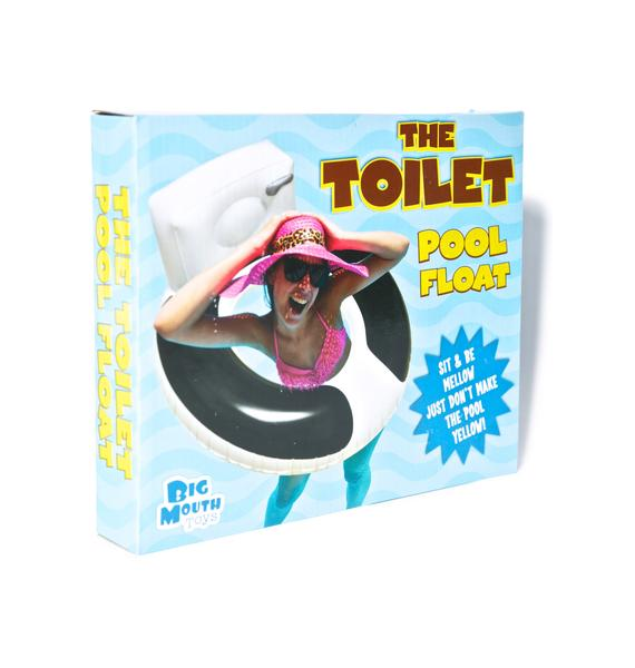 The Toilet Pool Float