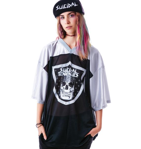 Suicidal Tendencies Cyco Clan Football Jersey