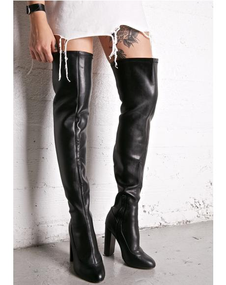 Chelsea Thigh-High Boots