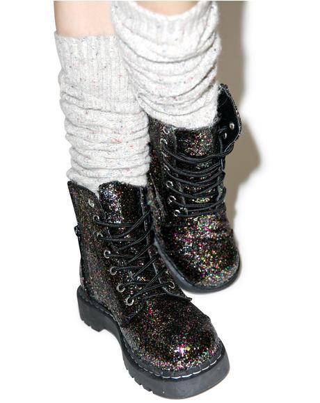 Glitter 7 Eye Boot