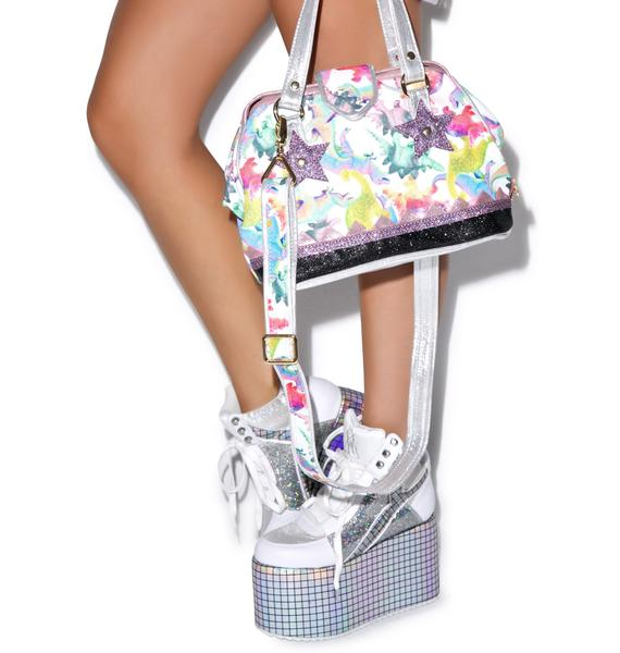 Irregular Choice Doctor Dino Handbag