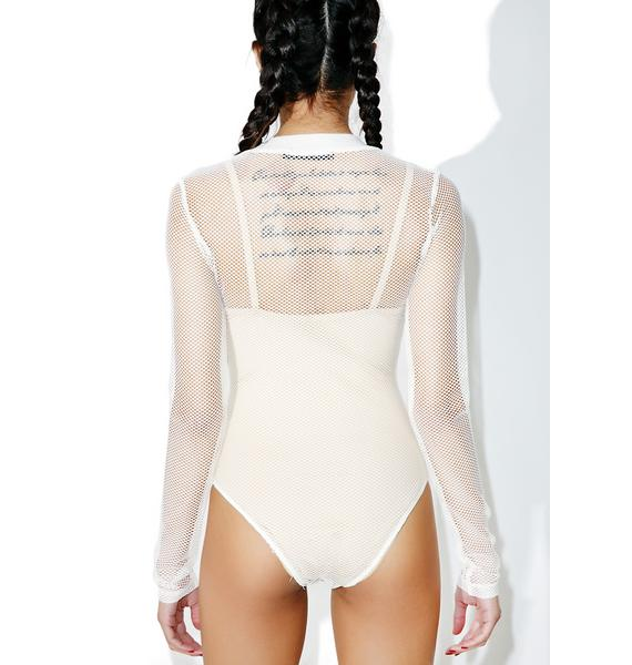 Bare It All Mesh Bodysuit